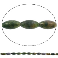 Naturliga indiska agat pärlor Indian Agate Oval 20x10mm Hål:Ca 1mm Längd:Ca 15 inch 5Strands/Bag Ca 19PC/Strand Säljs av Bag