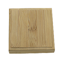 Wood Bracelet Box, Square, 105x105x33mm, 10PCs/Lot, Sold By Lot