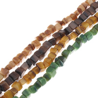 Natural Colored Shell Beads Chips 5x5mm-7x7mm Hole:Approx 1mm Length:Approx 15.7 Inch 10Strands/Bag Approx 72PCs/Strand