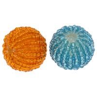 Tkane koraliki, Koraliki szklane, ze Akryl, Koło, Ręcznie robione, dostępnych więcej kolorów, 20mm, otwór:około 3mm, 100komputery/torba, sprzedane przez torba