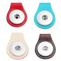 Snap Button Pendant, Zinc Alloy, platinum color plated, more colors for choice, nickel, lead & cadmium free, 35x25mm, Hole:Approx 6mm, Inner Diameter:Approx 6mm, Sold By PC