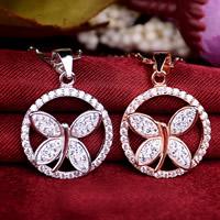 Wisiorek z kryształem, Srebro 925, ze ceglana Pave, Płaskie koło, Powlekane, z czeskim kamieniem, dostępnych więcej kolorów, 16.80x24.50mm, otwór:około 3x5mm, 5komputery/wiele, sprzedane przez wiele