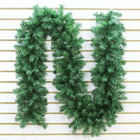 Plastic Christmas Rattan, Christmas jewelry, green, 300mm, 1Strands/Bag, Approx 2.7m/Strand, Sold By Bag