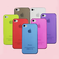 Mobile Phone Cases, PC Plastic, Rectangle, for iPhone5/5s & transparent & stardust, more colors for choice, nickel, lead & cadmium free, 50PCs/Lot, Sold By Lot