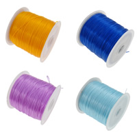 Elastic Thread, South Korea Imported, more colors for choice, 1mm, Approx 70m/PC, Sold By PC