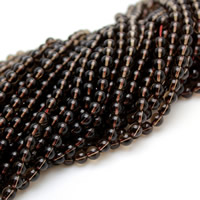 Natural Smoky Quartz Beads, Round, different size for choice, Hole:Approx 1-1.5mm, Sold Per Approx 15 Inch Strand