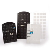 PVC Plastic Earring Display, different size for choice, more colors for choice, 5PCs/Lot, Sold By Lot