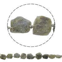Druzy Koraliki, Kwarc zielony, Naturalne, styl druzy, 17-27mm, otwór:około 1mm, około 16komputery/Strand, sprzedawane na około 16.5 cal Strand