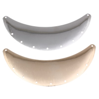 Металлические коннекторы , Железо, Луна, Другое покрытие, 2/7 петля, Много цветов для выбора, не содержит никель, свинец, 86x35x0.50mm, отверстие:Приблизительно 1mm, внутренний диаметр:Приблизительно 2mm, продается PC
