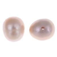Natural Freshwater Pearl Loose Beads, Potato, purple, 7-8mm, Hole:Approx 0.8mm, 10PCs/Bag, Sold By Bag