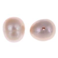 Naturalne perły słodkowodne perełki luźne, Perła naturalna słodkowodna, Ziemniak, fioletowy, 7-8mm, otwór:około 0.8mm, 10komputery/torba, sprzedane przez torba