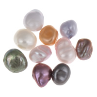 Natural Freshwater Pearl Loose Beads, Keishi, mixed colors, 6-8mm, Hole:Approx 0.8mm, 10PCs/Bag, Sold By Bag