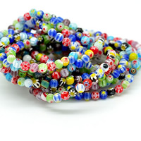 Glass Chevron Beads Round mixed colors 6mm Hole:Approx 1-1.2mm Length:Approx 13 Inch 5Strands/Lot 60PCs/Strand
