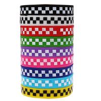 Силиконовые браслеты, Силикон, принт, разноцветный, 12mm, длина:Приблизительно 6.5 дюймовый, 10пряди/сумка, продается сумка