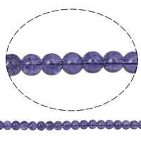 Crackle Glass Beads, Round, purple, 4mm, Hole:Approx 1mm, Length:Approx 30 Inch, 10Strands/Bag, Sold By Bag