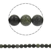 Perles de Serpentine russes, Rond, synthétique, normes différentes pour le choix, Trou:Environ 1mm, Vendu par Environ 15 pouce brin