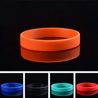 Силиконовые браслеты, Силикон, Много цветов для выбора, не содержит никель, свинец, 12mm, длина:Приблизительно 7 дюймовый, 10пряди/Лот, продается Лот