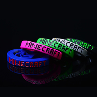 Силиконовые браслеты, Силикон, эмаль, Много цветов для выбора, 12mm, длина:Приблизительно 7 дюймовый, 10ПК/Лот, продается Лот