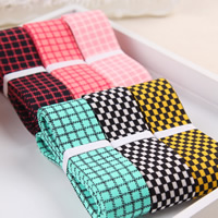 Polyester Ribbon, mixed colors, 25mm, 50Strands/Bag, 1m/Strand, Sold By Bag