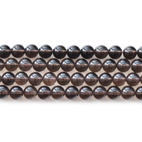 Natural Smoky Quartz Beads, Round, different size for choice, Hole:Approx 1mm, Sold Per Approx 15.5 Inch Strand