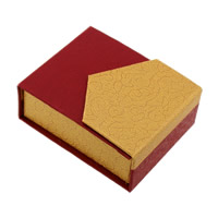 Cardboard Pendant Box, with Sponge, Rectangle, 68x82x30mm, 36PCs/Lot, Sold By Lot