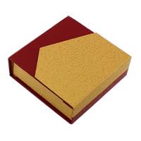 Tektura Pudełko na bransoletki, ze Gąbka, Kwadrat, 95x32mm, 24komputery/wiele, sprzedane przez wiele
