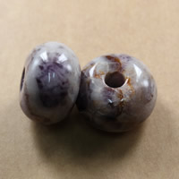 Natural Indian Agate Beads, Drum, 20x30mm, Hole:Approx 7-7.5mm, 10PCs/Lot, Sold By Lot