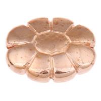 Koraliki Biżuteria akrylowe, Akryl, Kwiat, oryginalny kolor, 19x15x6mm, otwór:około 1mm, około 350komputery/torba, sprzedane przez torba