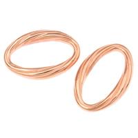 Akrylowy Pierścień łączący, Akryl, Owal, oryginalny kolor, 31x21x5mm, otwór:około 25x1.1mm, około 380komputery/torba, sprzedane przez torba