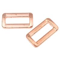 Akrylowy Pierścień łączący, Akryl, Prostokąt, oryginalny kolor, 28x15x5mm, otwór:około 21x6mm, około 410komputery/torba, sprzedane przez torba