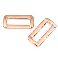 Akrylowy Pierścień łączący, Akryl, Prostokąt, oryginalny kolor, 35x17x5mm, otwór:około 26x6mm, około 330komputery/torba, sprzedane przez torba