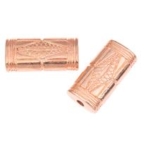 Koraliki Biżuteria akrylowe, Akryl, Prostokąt, oryginalny kolor, 27x13x7mm, otwór:około 3mm, około 235komputery/torba, sprzedane przez torba