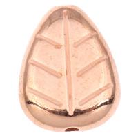 Koraliki Biżuteria akrylowe, Akryl, Liść, oryginalny kolor, 18x23.50x6mm, otwór:około 2mm, około 245komputery/torba, sprzedane przez torba
