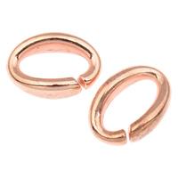Akrylowy Pierścień łączący, Akryl, Owal, oryginalny kolor, 16x11x5mm, otwór:około 11x5mm, około 1245komputery/torba, sprzedane przez torba