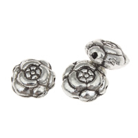 Zinc Alloy Jewelry Beads antique silver color plated lead   cadmium free 11x5mm Hole:Approx 1mm Approx 52PCs/Bag
