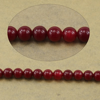 Natural Marble Beads Round red 14mm Hole:Approx 1.2-1.4mm Length:Approx 15.5 Inch 10Strands/Lot Approx 27PCs/Strand