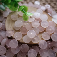 Natural Rose Quartz Beads, Flat Round, 12x3mm, Hole:Approx 2mm, 30PCs/Bag, Sold By Bag