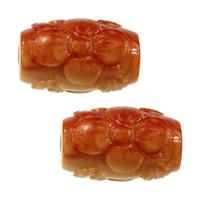 Бусины из ракушек крупных моллюсков, морское ушко, Овальная форма, резной, 16.50x10.50x10.50mm, отверстие:Приблизительно 1mm, 20ПК/Лот, продается Лот