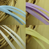 Polyester Ribbon, more colors for choice, 3mm, 50m/Bag, Sold By Bag