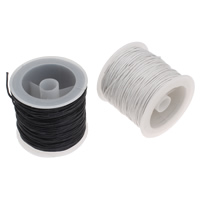 Wax Cord Waxed Linen Cord with plastic spool 1mm Approx 30Yard/Spool
