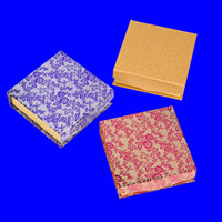 Cardboard Bracelet Box, Square, different designs for choice, 90x90x30mm, 60PCs/Lot, Sold By Lot