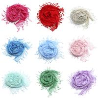 Klaring Fashion sjaal, Kant, meer kleuren voor de keuze, 47x150cm, Verkocht door Strand