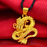 24 K Gold Color Plated Pendant Brass Dragon 24K gold plated flower cut   vacuum protective color 30x35mm Hole:Approx 3x5mm 10PCs/Lot