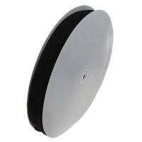 Welwet wstążka, ze papier szpula do dalekich rzutów, czarny, 30mm, około 50m/PC, sprzedane przez PC