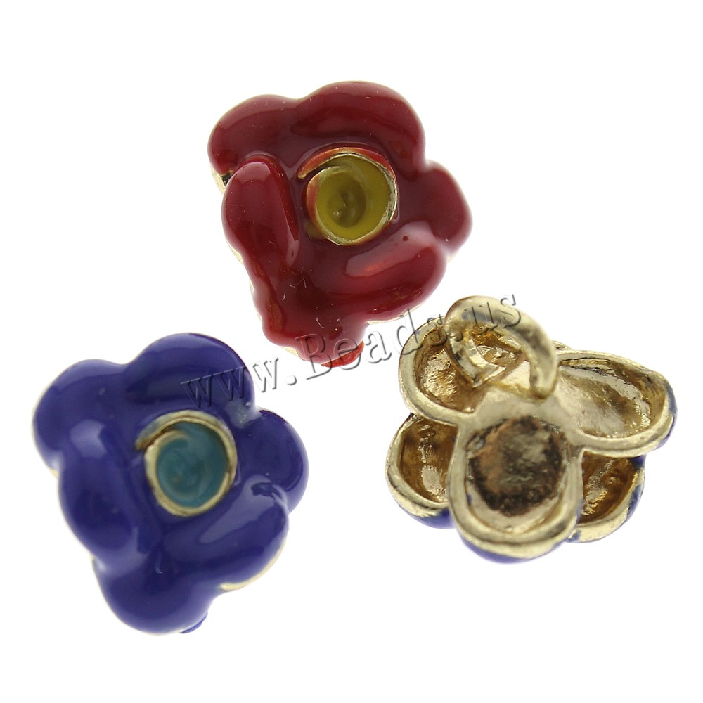 Cloisonne shank button flower handmade china wholesale for Buttons with shanks for jewelry