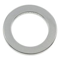 Roestvrij staal ring connectors, Donut, oorspronkelijke kleur, 23x2mm, Gat:Ca 15.5mm, 100pC's/Bag, Verkocht door Bag