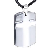 Подвеска из вольфрамовой стали, Вольфрама сталь, Прямоугольная форма, Мужский, оригинальный цвет, 23x35mm, отверстие:Приблизительно 3x5mm, продается PC