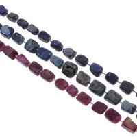 Druzy бисер, Ледниковый кварц-агат, натуральный, druzy стиль, Много цветов для выбора, 14x12x8-16x12x10mm, отверстие:Приблизительно 1mm, 20ПК/Strand, Продан через Приблизительно 14.5 дюймовый Strand