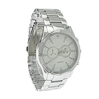 Unisex Wrist Watch, Zinc Alloy, platinum color plated, nickel, lead & cadmium free, 49x44mm, 23mm, Length:Approx 12 Inch, 10PCs/Lot, Sold By Lot