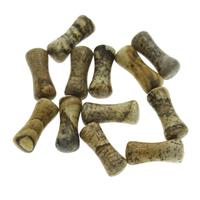Picture Jasper Beads, Dog Bone, no hole, 5x13mm, 50PCs/Bag, Sold By Bag